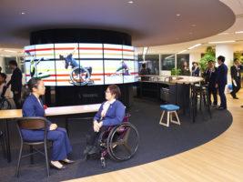 [パラリンピック競技団体共同オフィスオープン発表会会見] 競技団体共同オフィスがオープン!