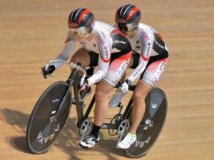 2人乗りのタンデムでリオパラリンピックを目指す田中・鹿沼ペア