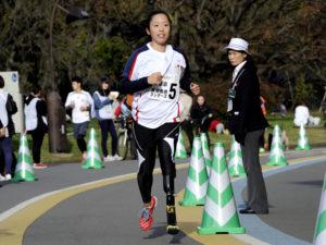 ロンドンパラリンピック日本代表の高桑早生らトップアスリートの姿も