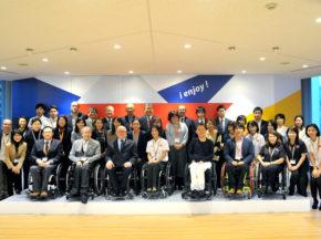 [IPC(国際パラリンピック委員会)のフィリップ・クレイヴァン氏がセンターを訪問] パラスポーツのますますの発展を期待