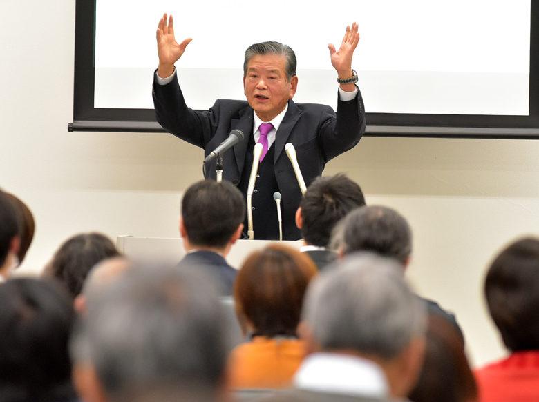 [パラリンピック競技団体のガバナンス勉強会]川淵三郎氏が「ビジョンを持ち、力を合わせて」と熱弁