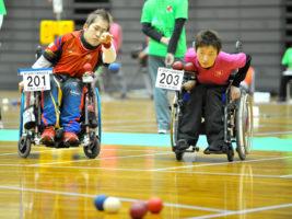 [第17回日本ボッチャ選手権大会本大会]ワールドクラスの選手たちがハイレベルな試合を展開! BC2はライバル対決を杉村が制す
