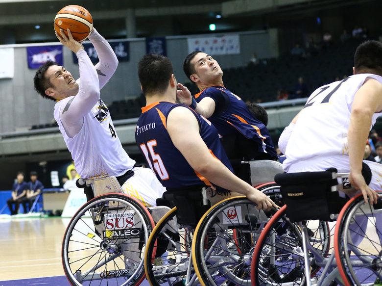 [第44回日本車椅子バスケットボール選手権大会]宮城MAXが8連覇達成で閉幕。リオの日本代表候補が存在感