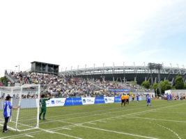 [ブラインドサッカー日本選手権]3000人超が来場した日本一決定戦。Avanzareつくばが4連覇達成