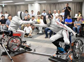 [車いすフェンシング日本選手権大会]13人の車いすフェンサーが集結、13年ぶりの日本選手権開催が実現