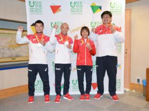 リオパラリンピック柔道日本代表チーム帰国会見・番外編