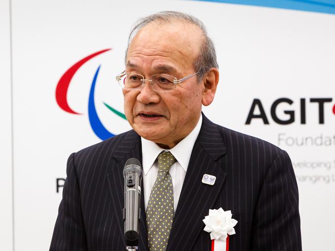 日本パラリンピック委員会の鳥原光憲会長