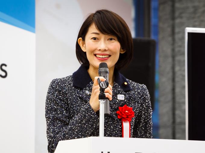 丸川珠代東京オリンピック・パラリンピック担当大臣