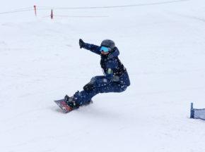 [第3回全国障がい者スノーボード選手権大会&サポーターズカップ]ピョンチャンパラリンピックからの新競技スノーボードの国内大会、成田緑夢らが優勝