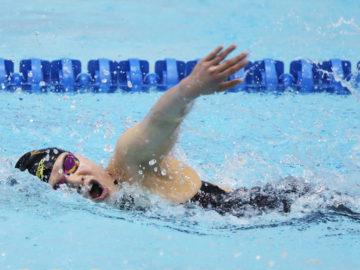 [パラ水泳春季記録会]東京を目指す若手選手らがワールドパラ世界水泳へ