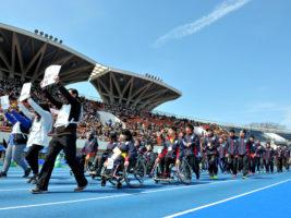 [パラ駅伝 in TOKYO 2017 ]17チームのランナー153人全員が完走。ゲストも力走したパラ駅伝 PHOTO レポート