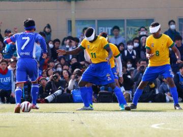 [さいたま市ノーマライゼーションカップ ]パラリンピック4連覇中のブラジルに1対4。積極的な攻撃を仕掛けるも、続く日本の険しい道のり