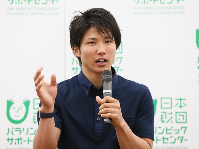 オリンピックを目指していた成田