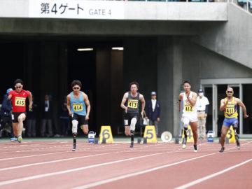 [第33回静岡国際陸上競技大会]日本陸上界で初めて義足のパラリンピックメダリストになった山本篤。先駆者として走り続ける理由