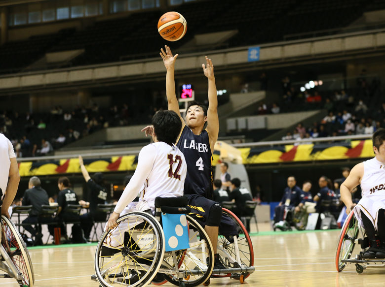 [第45回日本車椅子バスケットボール選手権大会]将来を嘱望された若手も奮闘。世界舞台挑戦への糧に