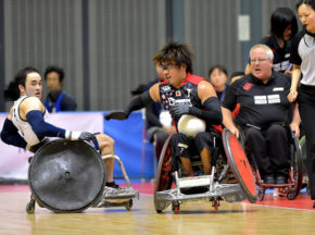 [ジャパンパラウィルチェアーラグビー競技大会]世界のトップに肉薄。新生・日本、次につながる2位