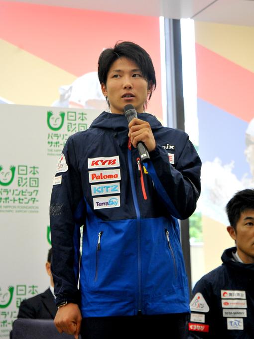 パラリンピック初出場でメダルが期待される成田