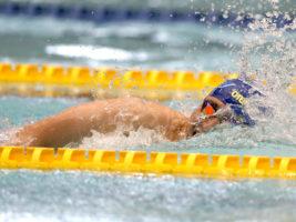 [日本知的障害者選手権水泳競技大会]同じ障がいのスイマーたちに刺激を与える。リオパラリンピック銅メダル津川拓也の世界新