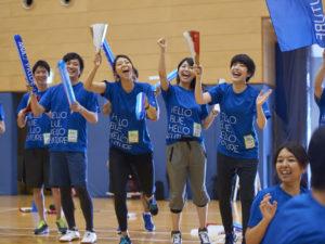 どこよりも応援を楽しんでいた全日本空輸チーム
