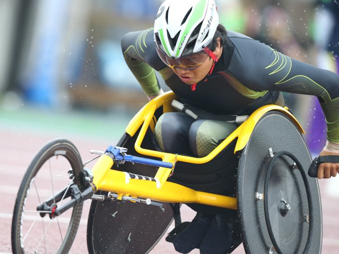 東京パラリンピックの実施種目は決まっていないが「どの種目でも金メダルを獲れるように準備したい」と佐藤友祈