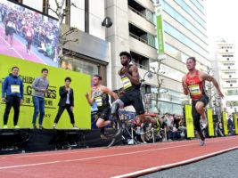 [渋谷シティゲーム~世界最速への挑戦~]これが世界の走りだ! 若者の街、渋谷で義足アスリートが圧巻のパフォーマンス