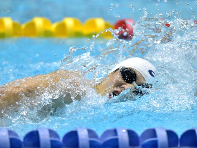 中島は17歳で初出場したリオパラリンピックの200m個人メドレーで銅メダルを獲得。東京パラリンピックに向けてタイムを更新中だ