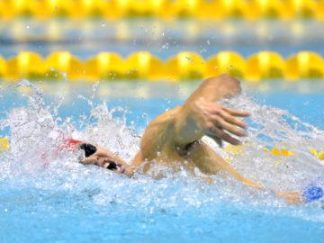 [第34回日本身体障がい者水泳選手権大会]木村敬一、中島啓智らが貫録の泳ぎでアジア新