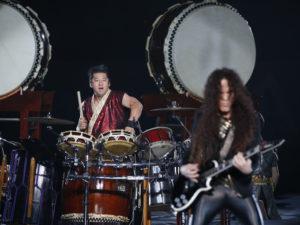 太鼓ドラマーのヒダノ修一、 ギタリストのマーティ・フリードマンも登場
