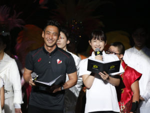 司会は、DJのnicoとアナウンサーの平井理央