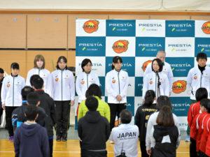 女子代表チームがリオでの戦いを報告