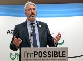 オリンピック・パラリンピック教育「Get Set」に学ぶ「I'mPOSSIBLE」の可能性 ~IPC教育委員会委員長ニック・フラー氏来日記念シンポジウム開催