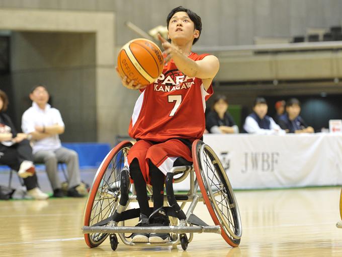 ベテラン選手が多いパラ神奈川SCを若い古澤がチームを引っ張る