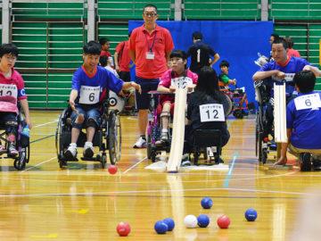 [全国特別支援学校ボッチャ大会「ボッチャ甲子園」]パラスポーツの発展に向けた歴史的試み。各地から18チームが参戦!