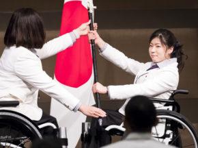 次はパラリンピックの番だ! 平昌2018冬季パラリンピック日本選手団が結団式・壮行会