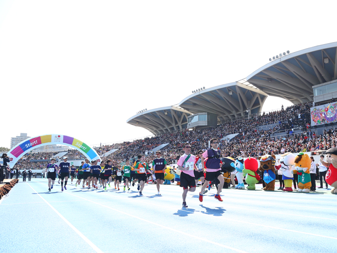 過去最高の1万7100人が盛り上げたパラ駅伝 in TOKYO 2018 ベリーグッドとちぎが2連覇を達成!