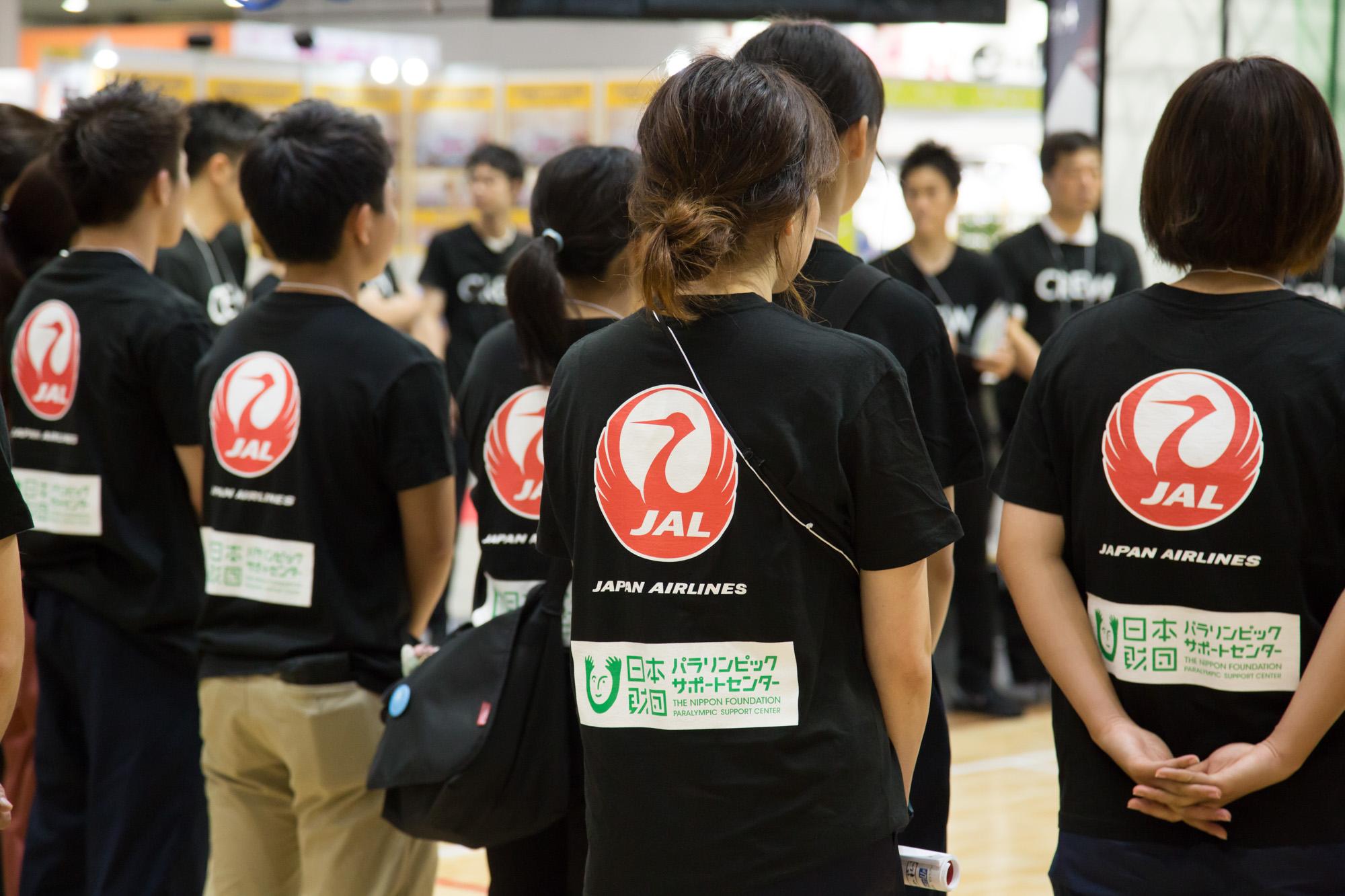本イベントには多くのボランティアがスタッフとして参加