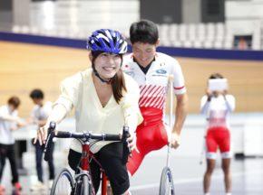 はじめて乗れた! 笑顔が咲いたパラサイクリングイベント