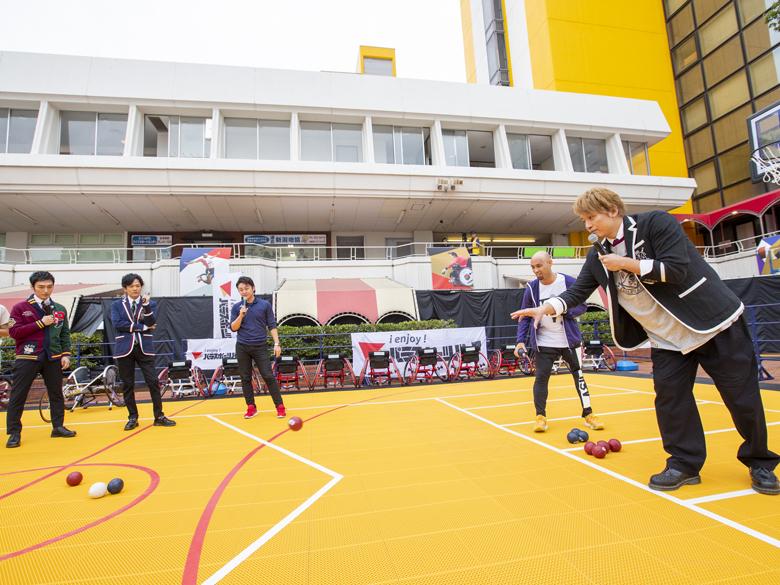 NSTまつりでスペシャルトーク・パラスポーツパーク・レゴ壁画が大盛況!