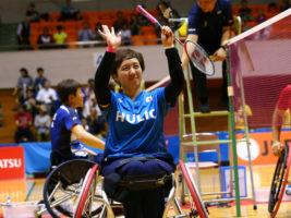 日本が9種目制覇! JAPANパラバドミントン国際大会2018