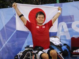 東京パラリンピックへ一番乗り! 上地&国枝がアジアパラV