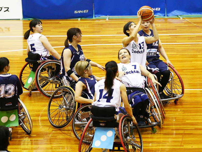 車いすバスケットボール女子、史上初の「皇后杯」は白熱の優勝争いに!