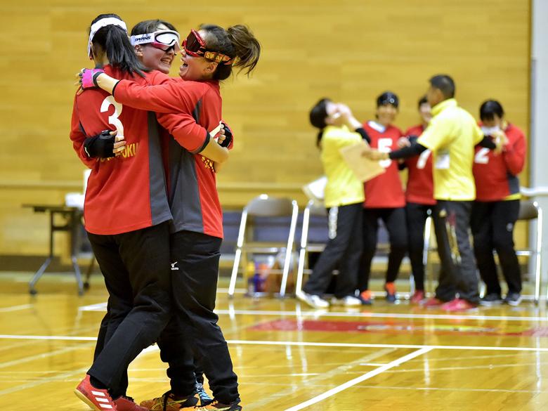 日本ゴールボール選手権大会、女子は初優勝&男子は2連覇!