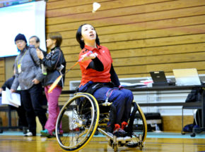 【バドミントン】第4回日本障がい者バドミントン選手権大会