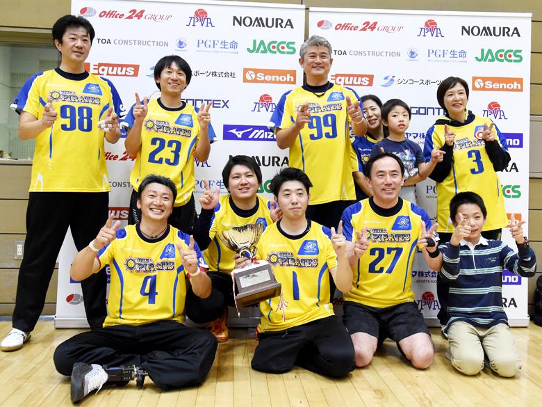 シッティングバレーボール日本一決定戦、東京パラリンピック開催を追い風に!