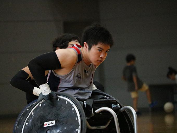 ウィルチェアーラグビー 橋本勝也、16歳。
