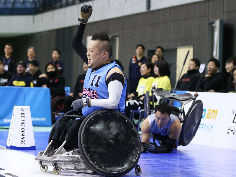 ウィルチェアーラグビー日本一決定戦で沖縄が3連覇!