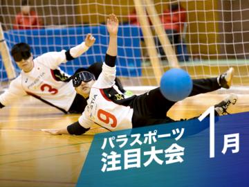 【1月のパラスポーツ注目大会】世界を迎え撃つ日本代表にエールを!