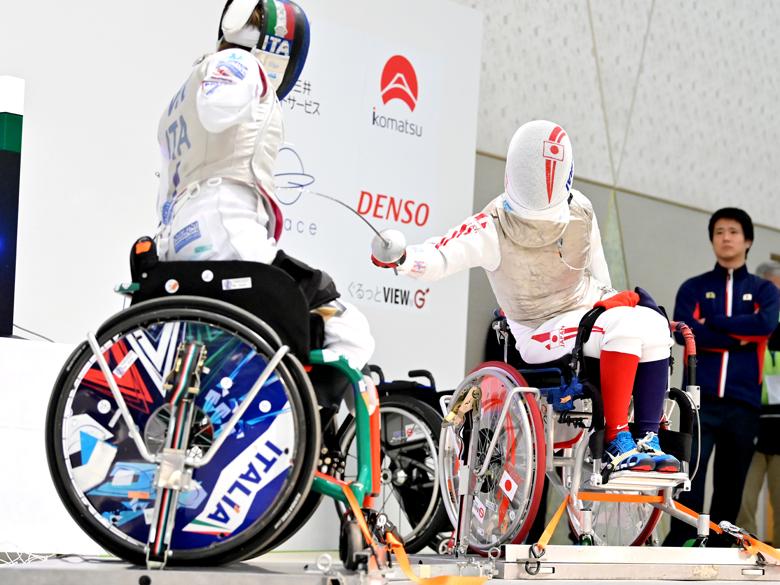 車いすフェンシングワールドカップ京都大会、櫻井杏理が日本勢唯一の銅メダル