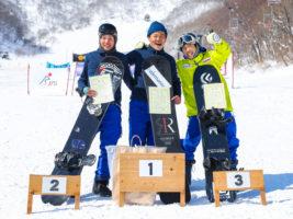 全国障がい者スノーボード選手権、激戦の下腿障害の部は市川貴仁に栄冠!