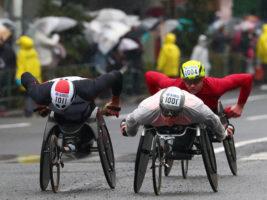 東京マラソン2019 車いすの部・悪天候のレースでのカギは王者の勘!?